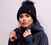 Pikeur Mütze Bobble Hat mit FauxFur Pompon