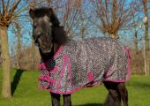 DKR Sports Mini Regen decke Luxe mit fleece lining